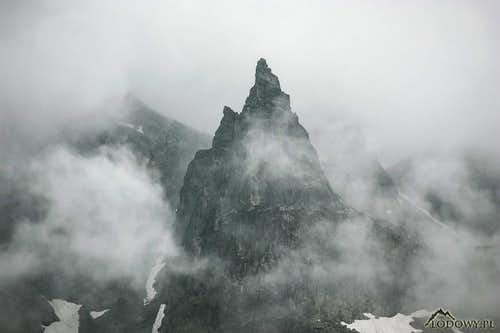 Mnich above Morskie Oko