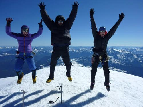 On the Summit of Mt. Baker