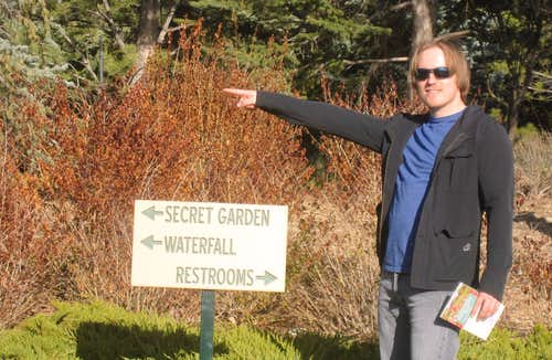 Anders in the Secret Garden