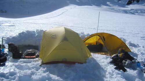 Ingraham Flats - High Camp