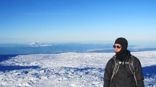 Rainier Summit - Jason