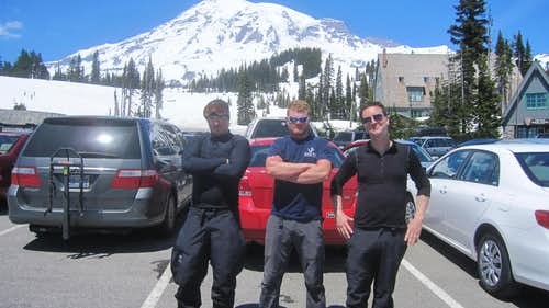 We made it back - Rainier