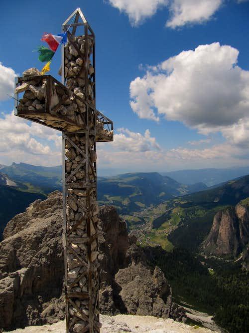 Gran Cir summit Cross