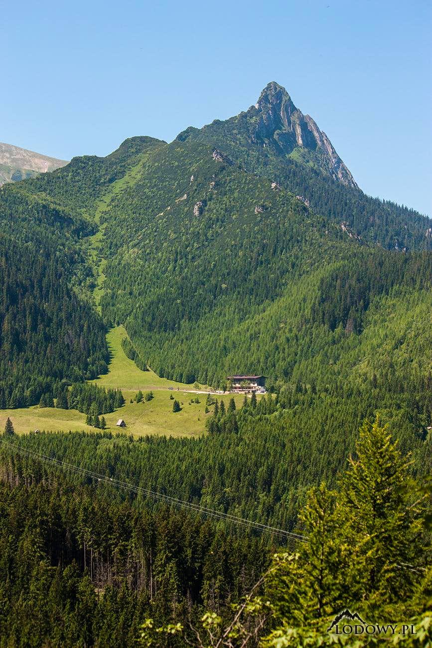 Giewont peak above Kalatowki