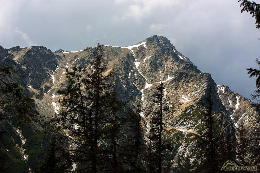 Slavkovsky stit from Mala Studena valley