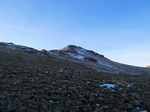near summit block