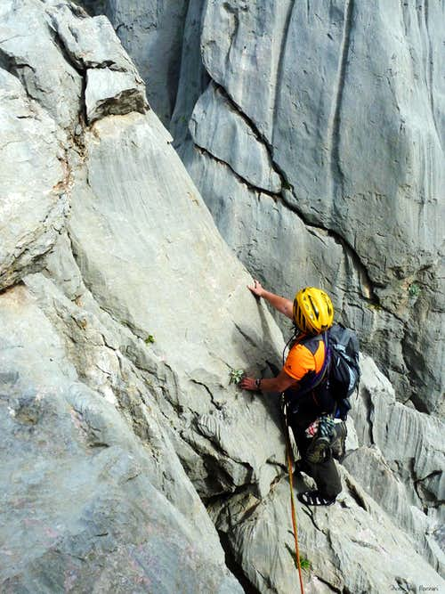 Paklenica incredible limestone