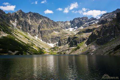 Czarny Staw Gasienicowy lake