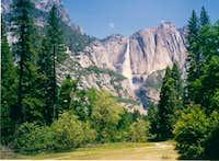 Yosemite Falls, June 1985...