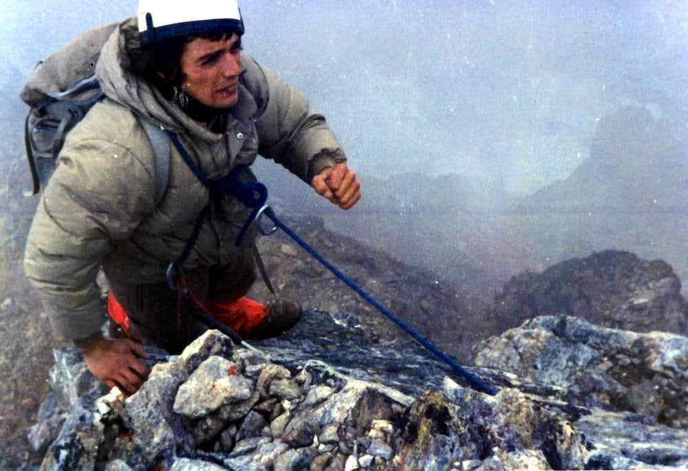 MONTE EMILIUS 33 ROUTES HISTORY W-NW Ridge 1976