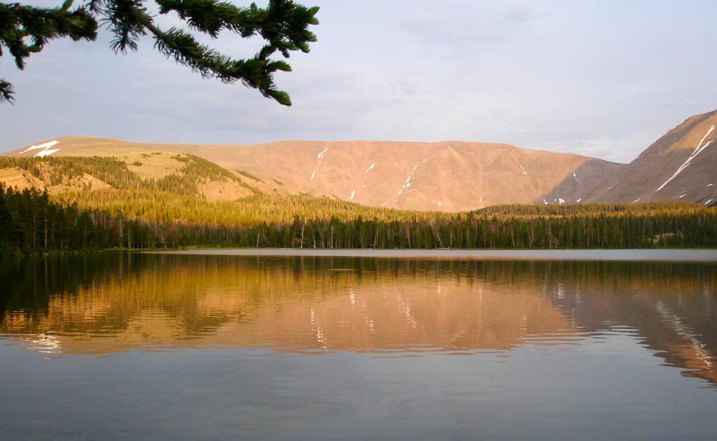 The Burro ridge