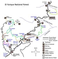 el yunque trails