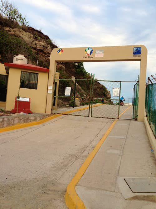 Entrance Gate to Cerro del Creston