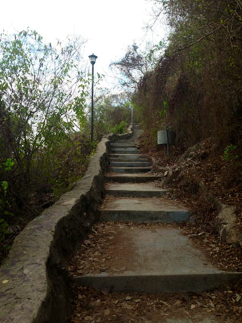 Staircase on Cerro del Creston