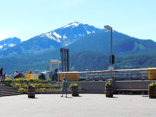 Mt Jumbo from Juneau