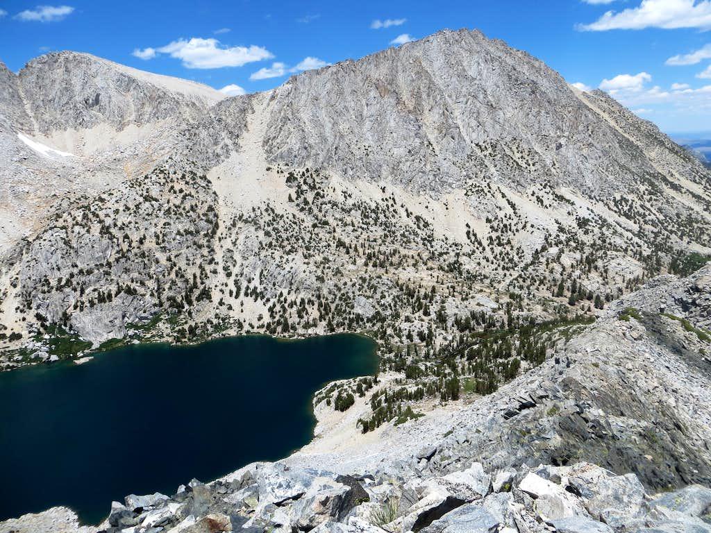 Mount Starr seen from Lookout Peak