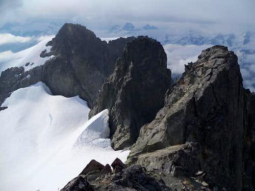 Icy Peak summits