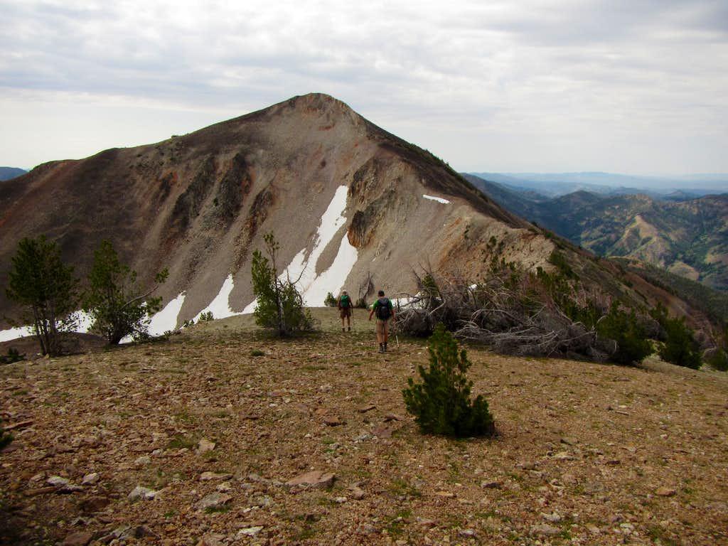 heading to Jumbo Peak