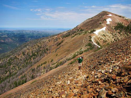 Jarbidge Mountain peaks