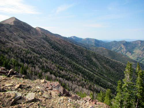 ascent to Jarbidge ridge