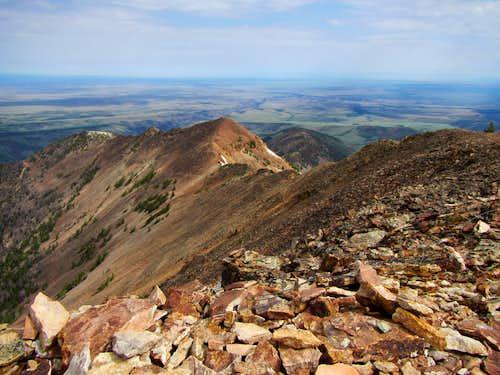 N end of Jarbidge Mts