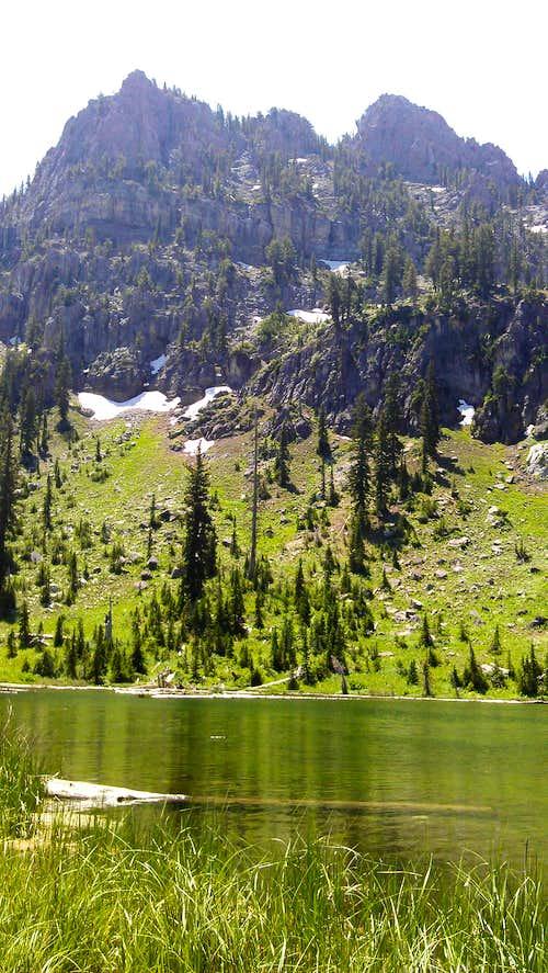 Magog from White Pine Lake