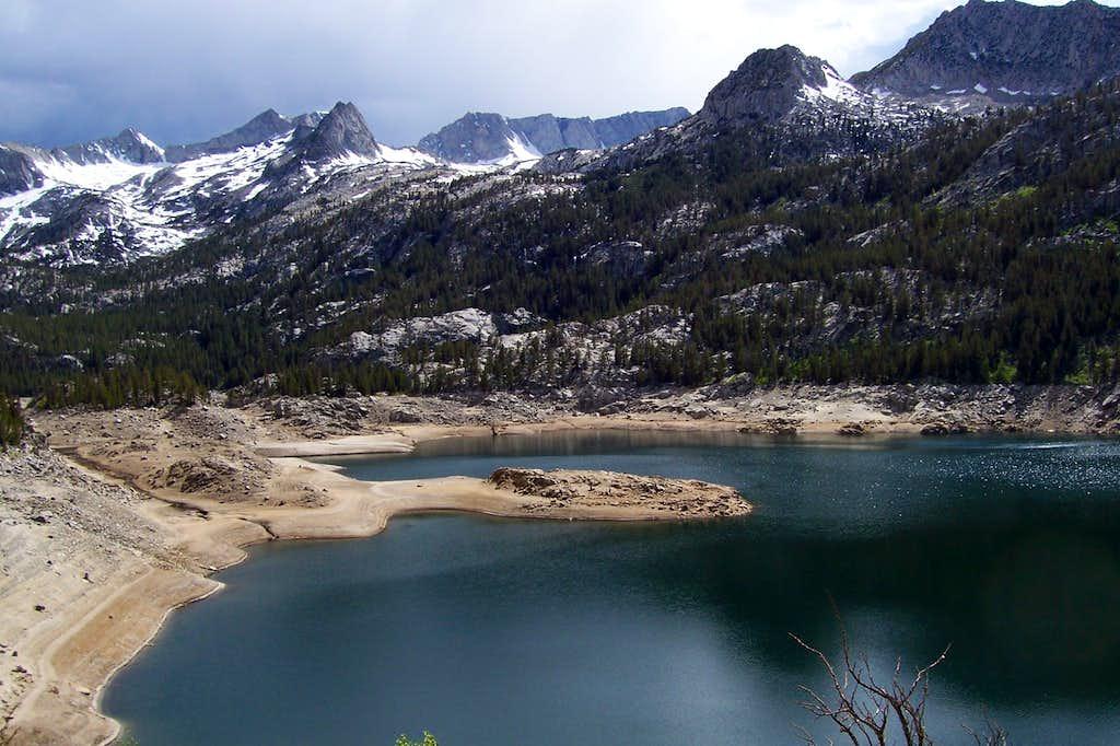 A very low South Lake