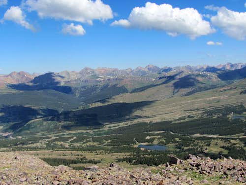 Andrews and Little Molas Lakes