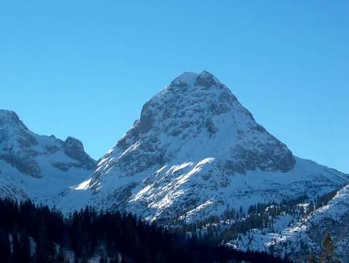 Photo of the Sonnenspitze...