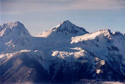 Primus Peak from the north...