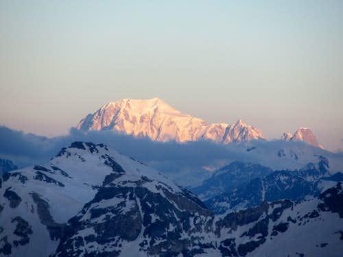 A Mont Blanc sunrise
