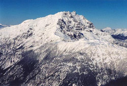 Jack Mountain in winter. Who...