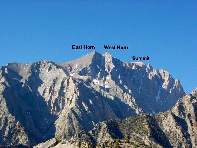 Mt. Williamson's North Face...