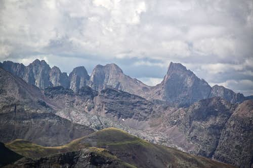 Turret and Pigeon Peak