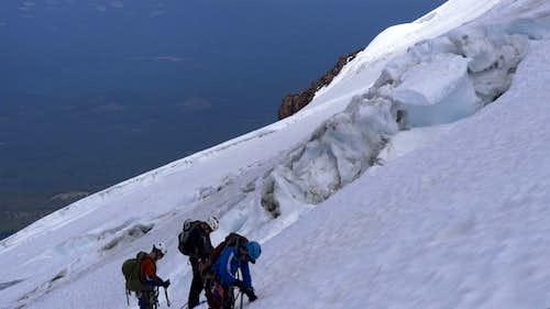 Glacier Traverse & Crevasse Rescue Practice
