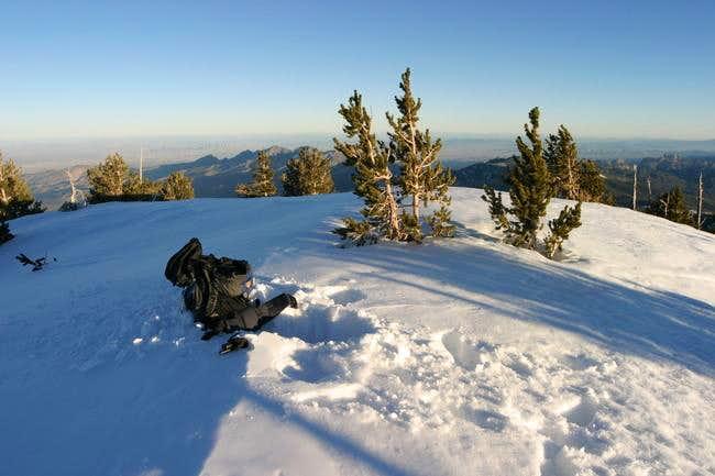Harris Mountain summit on 12...