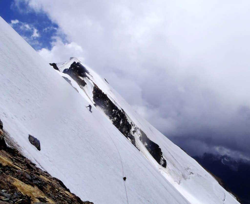 Steepness on descent