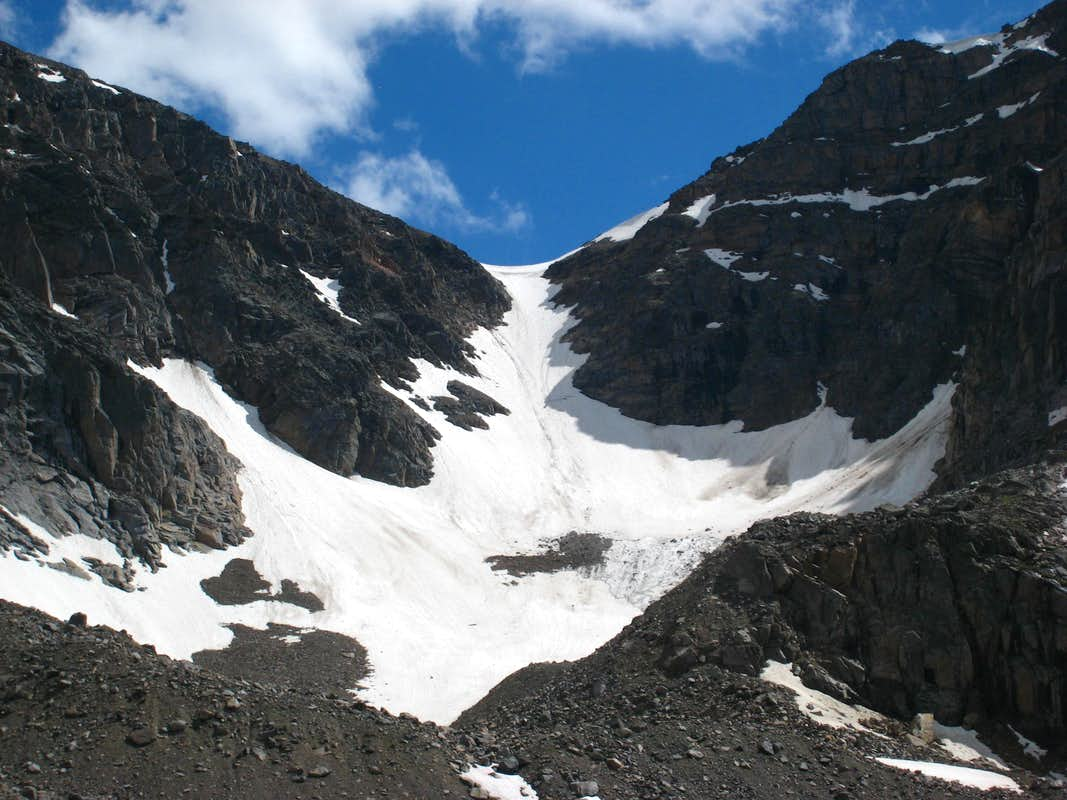 Mount Inabnit snowfield