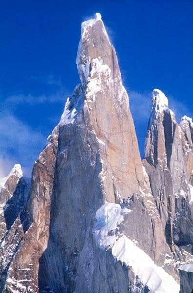 Cerro Torre 3128 m. from...