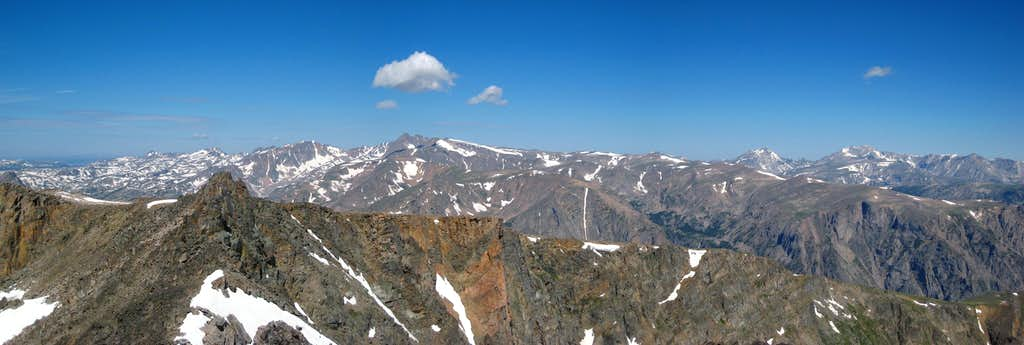 Mount Inabnit summit panorama