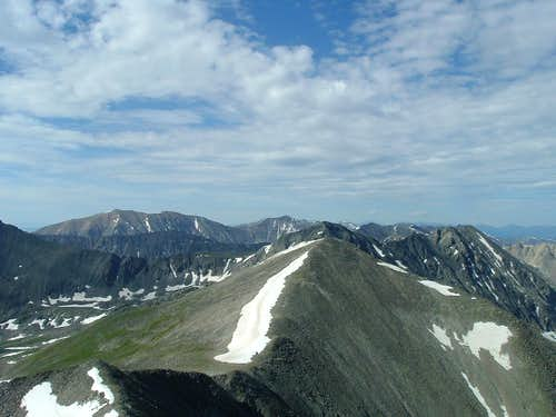 Atlantic Peak, Fletcher Mtn & Drift Peak