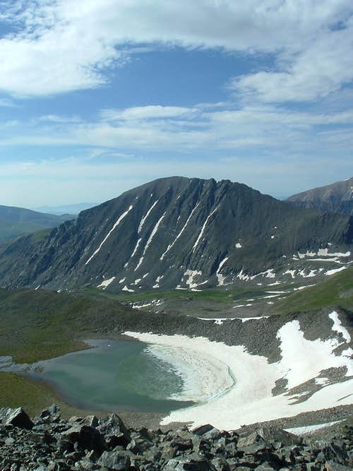 Pacific Lake & Quandary Peak