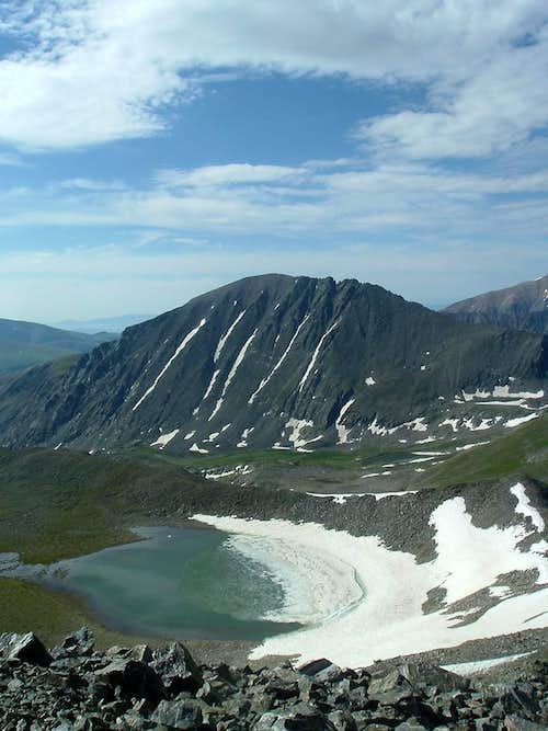 Pacific Lake & Quandary Peak