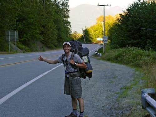 Hitch Hiking to Marblemount