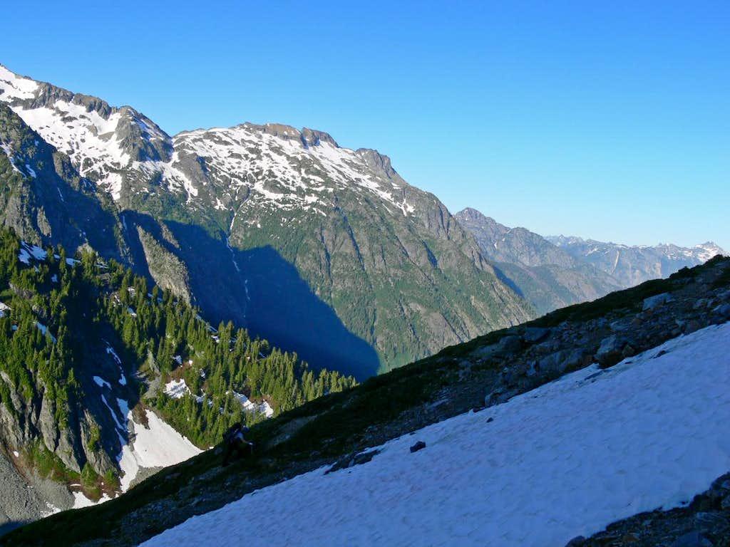 Booker Mountain's South Face