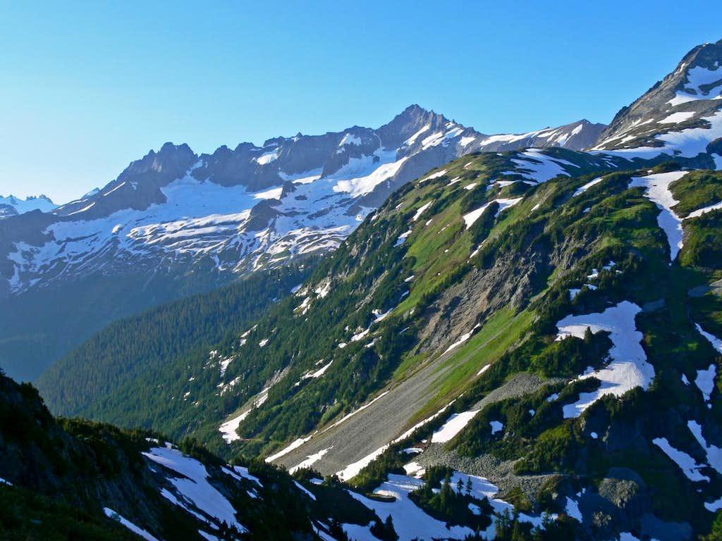 Mount Torment and Forbidden Peak