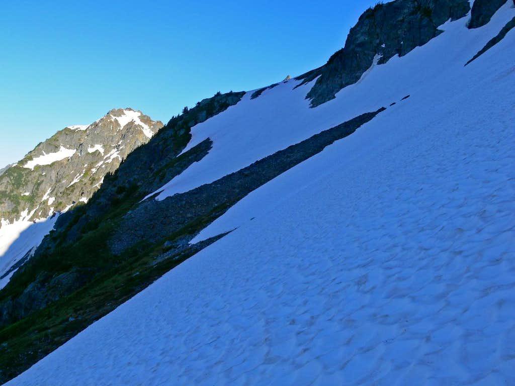 Snow Slope before Cache Glacier