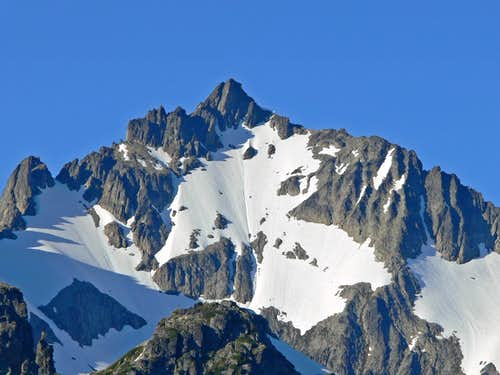 Mount Bucknet s South Face