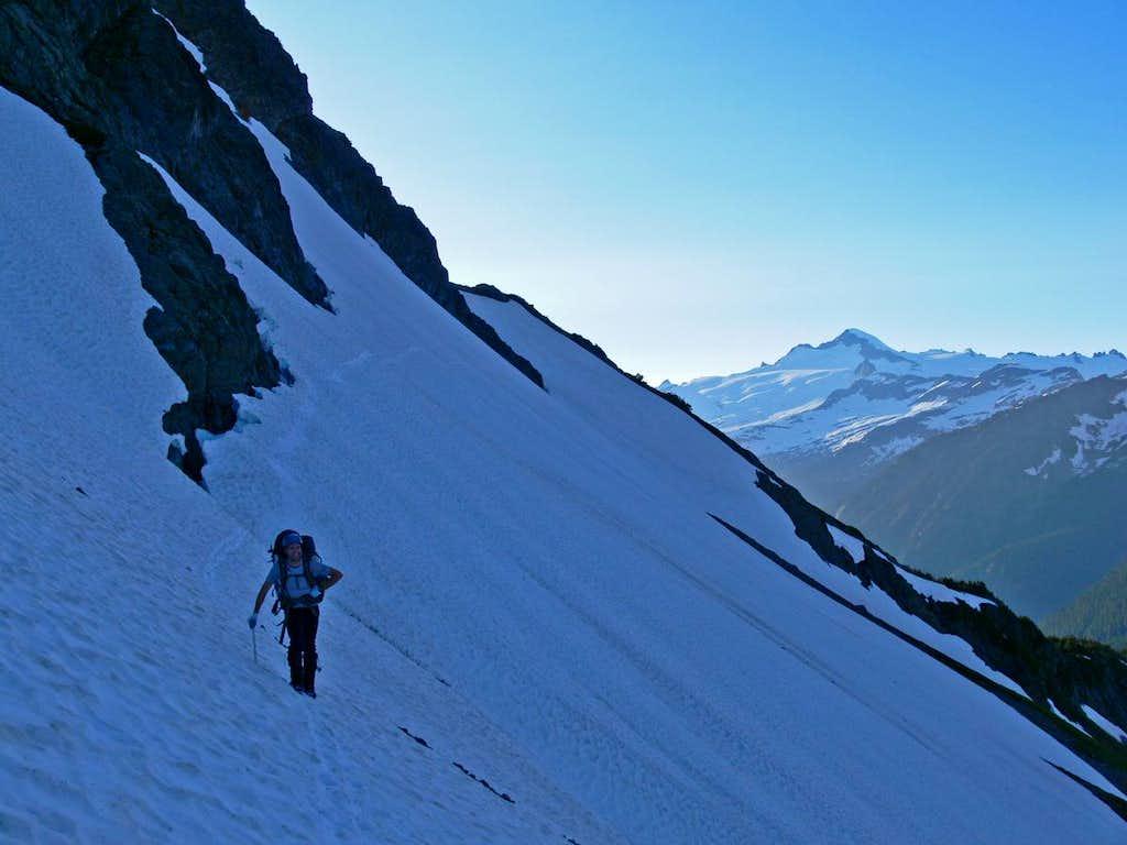 Eric Darsow with Eldorado Peak