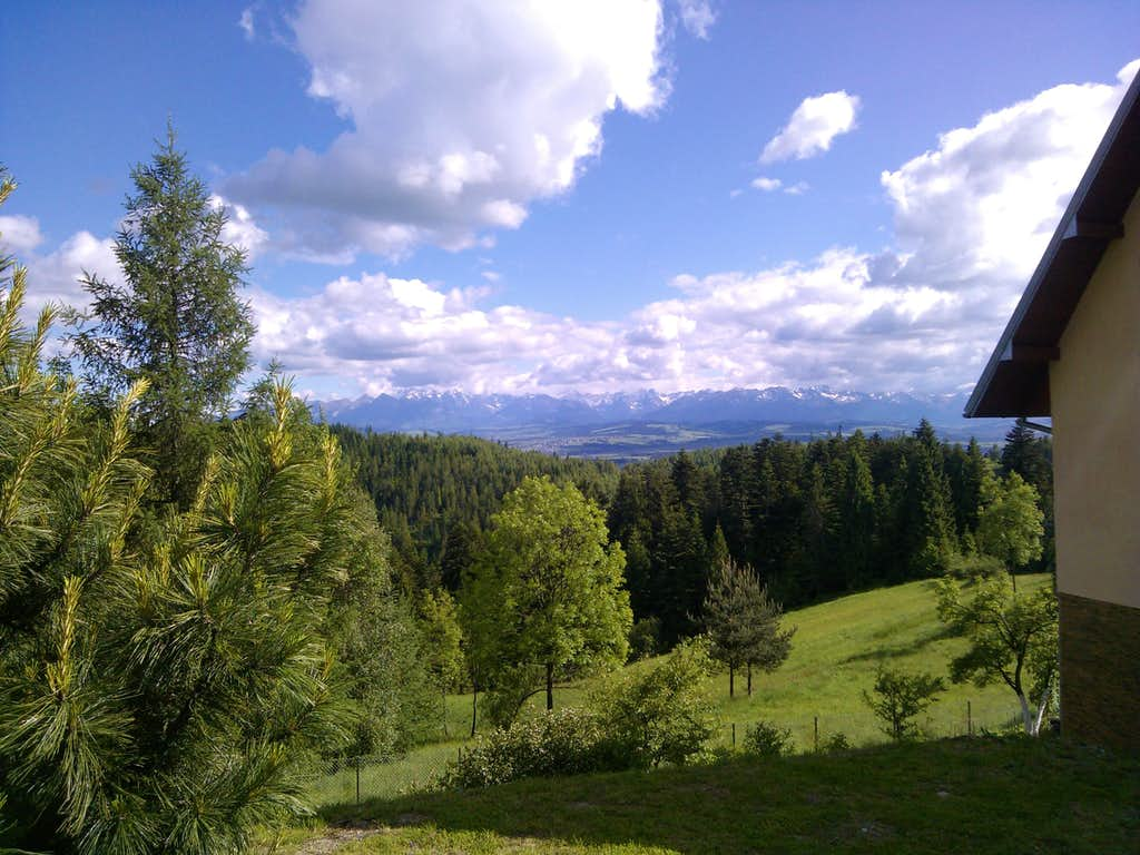 View over Tatry